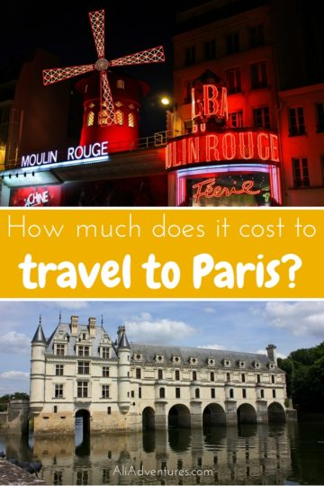 Paris, France is a dream trip for many, but it's not a cheap destination. Here's a look at how much I spent traveling for one week in Paris including tours. | Paris trip cost | how much is a trip to Paris | Paris prices | food prices in Paris | how much does it cost to go to Paris | cost of food in Paris | trip to Paris cost for two | how much does a trip to Paris cost #paris #budgettravel #france #traveltips