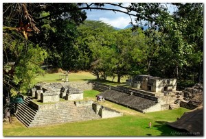 Visiting Copan Ruins in Honduras