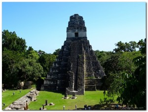 Visiting the Tikal Ruins in Guatemala