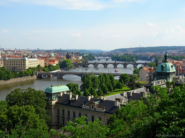 how much we spent traveling in Prague