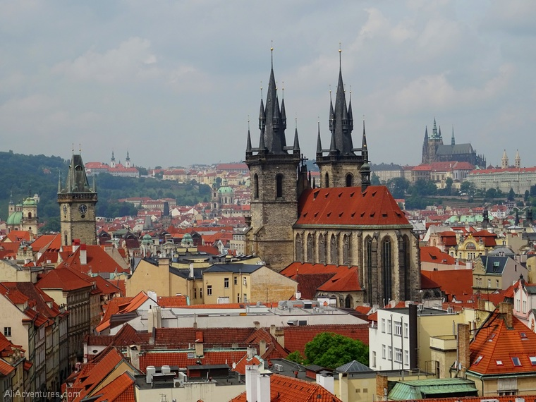 how much we spent traveling in Prague - Prague budget