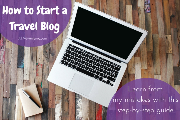 how to start a travel blog - living a non-traditional life