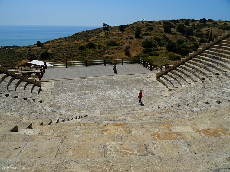 Limassol, Cyprus attractions - Kourion ruins photos