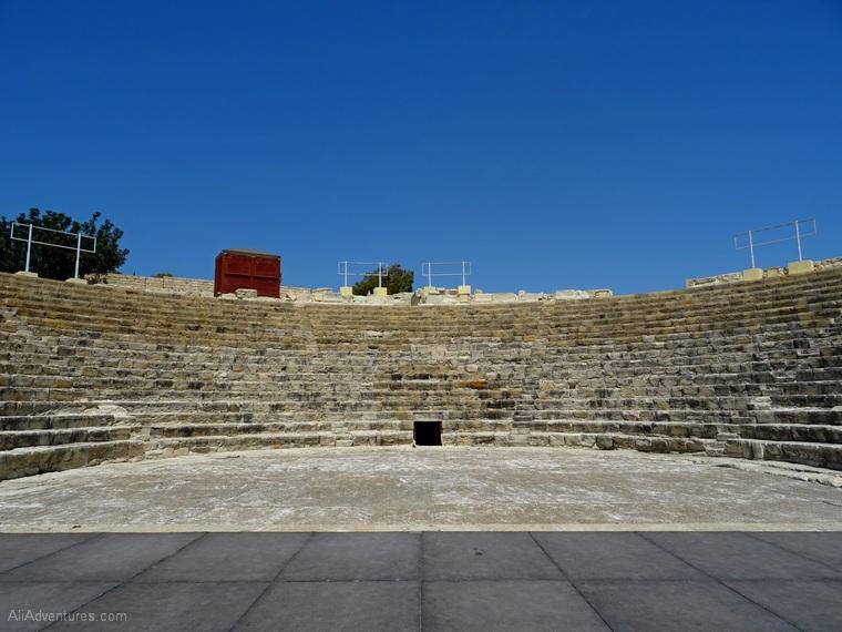 photos of Kourion ruins near Limassol, Cyprus