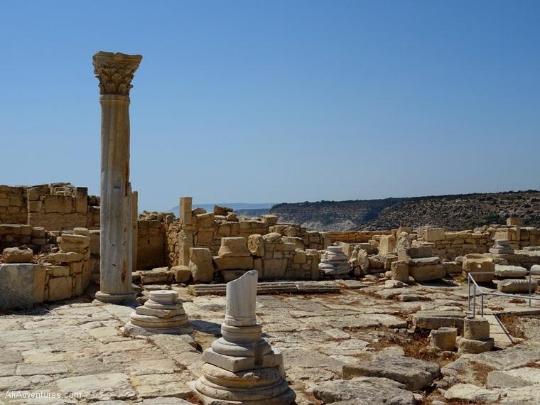 Limassol, Cyprus activities - Kourion ruins photos