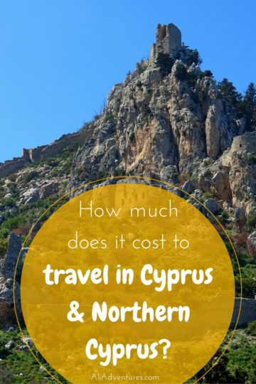 Cyprus was an interesting and gorgeous country packed with history. It wasn't too expensive either! Here's how much I spent traveling in Cyprus for 8 nights. #cyprus #budgettravel #traveltips