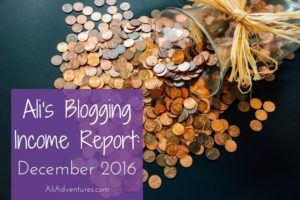 How Much Money I Make Online: Income Report December 2016