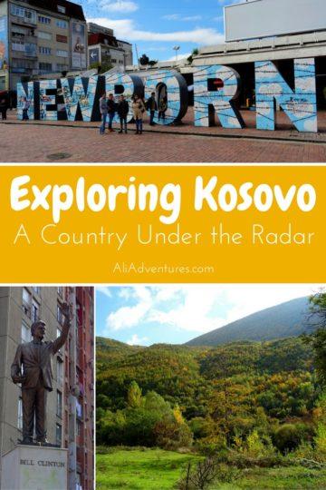 exploring Kosovo