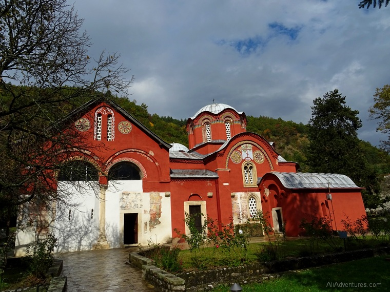 how much I spent traveling in Kosovo - Peje monastery