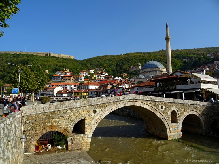 how much I spent traveling in Kosovo