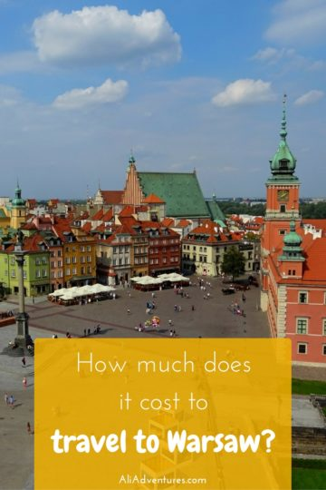 Poland is an inexpensive country offering a great value for travelers. For four days/three nights, here's how much we spent traveling in Warsaw, Poland. #poland #warsaw #budgettravel #traveltips