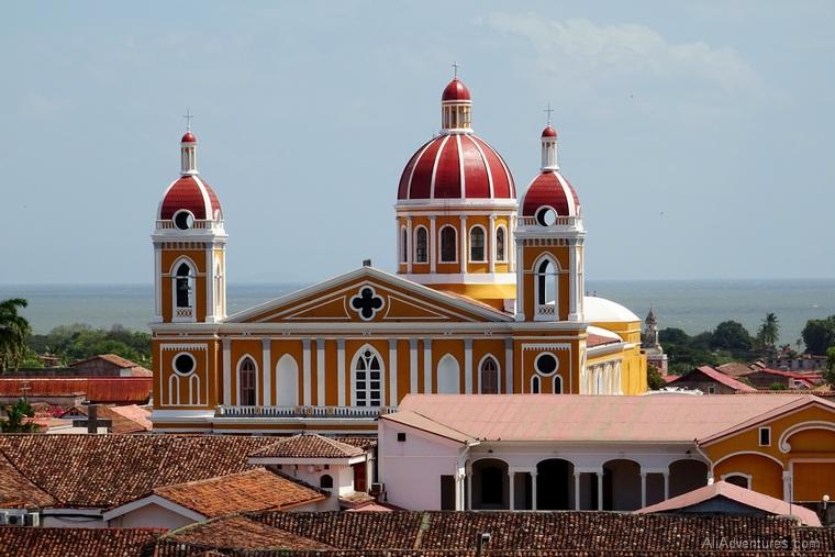 Granada, Nicaragua view from church