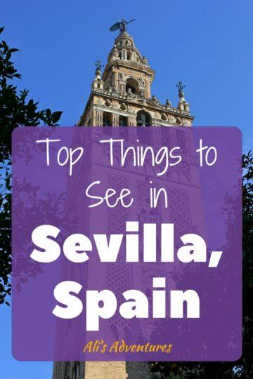 top attractions in Sevilla, Spain
