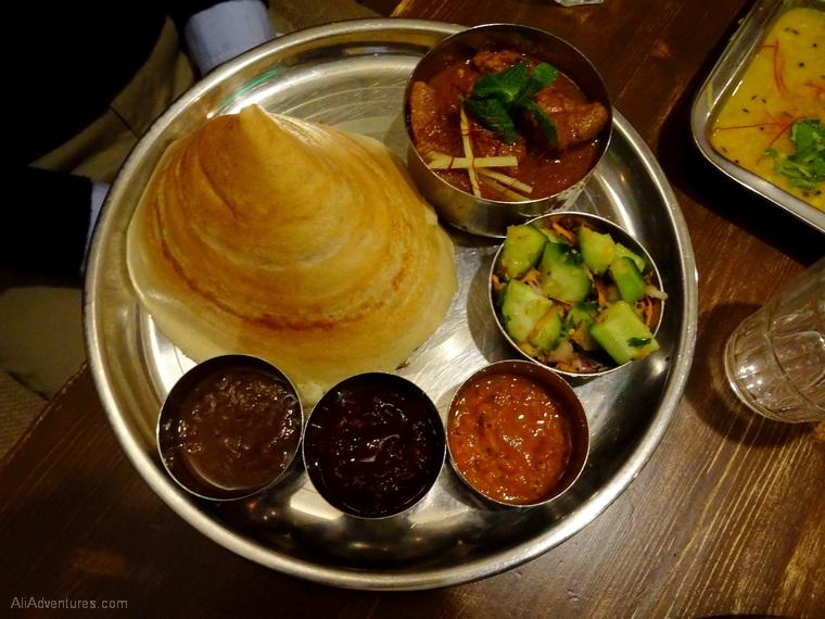 Berlin International Restaurant Project: India, Israel, South Korea