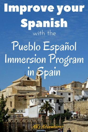 Improve your Spanish with an immersion program in Spain