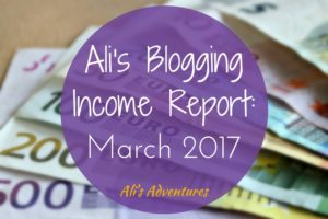 How Much Money I Make Online: Income Report March 2017