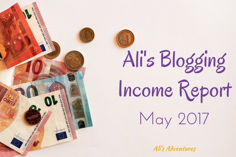 Blogging Income Report May2017
