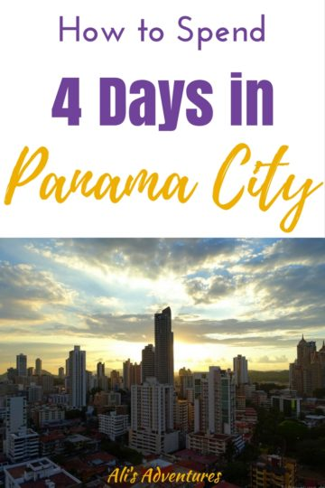 There are a lot more things to do in Panama City besides see the canal, although that's a big one! Here's how we spent 4 days in Panama City including day trips.