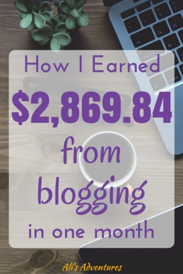 Blogging has been my biggest source of income for awhile which gives me so much freedom. See how much money I make online in my June blogging income report.