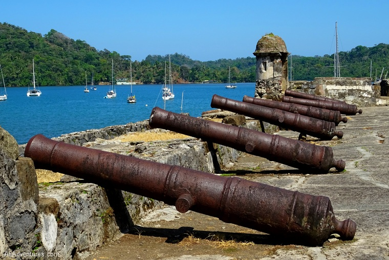 places to see in Panama - fort near Portobelo Panama