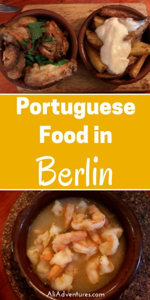 For the next installment of the Berlin International Restaurant Project, we tried Portuguese food in Berlin at a Portuguese restaurant with tasty tapas. restaurants in Berlin | where to eat in Berlin | Berlin food | Portugal restaurant in Berlin