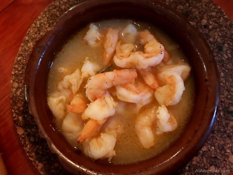 Portuguese food in Berlin - shrimp