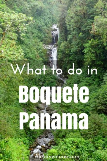 While planning our Panama vacation, we knew we would be visiting Boquete. It's one of the most popular places to visit in Panama, and for good reasons. Here's what we did in Boquete.