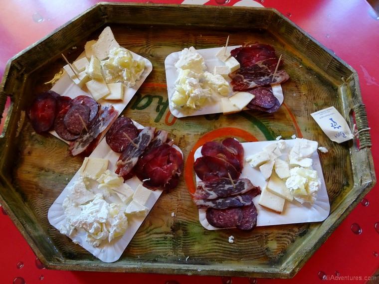 things to do in Sarajevo Bosnia food tour cheese sausage