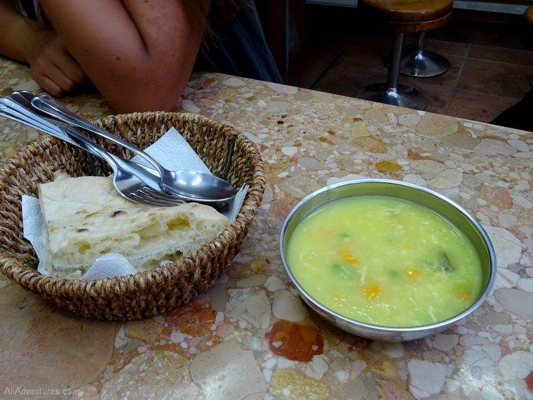things to do in Sarajevo food tour soup