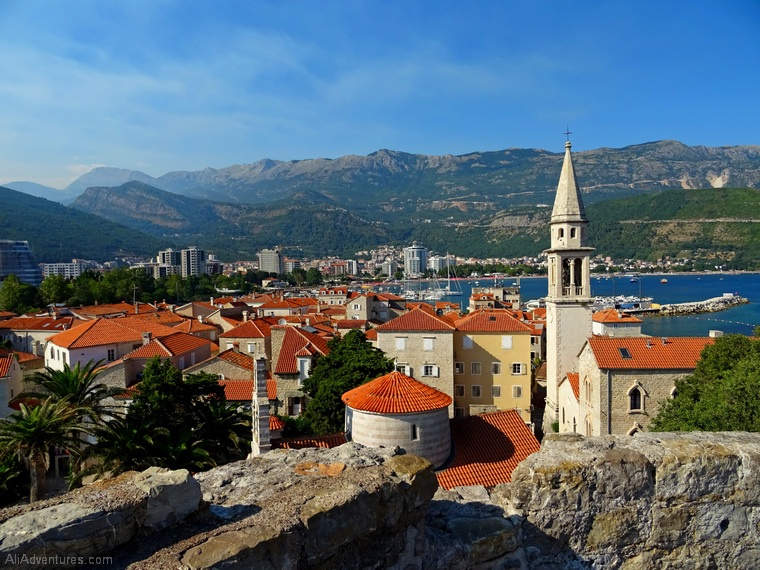 things to do in Montenegro - views of Budva Montenegro