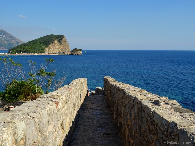 things to do in Budva - views from Budva Montenegro fort