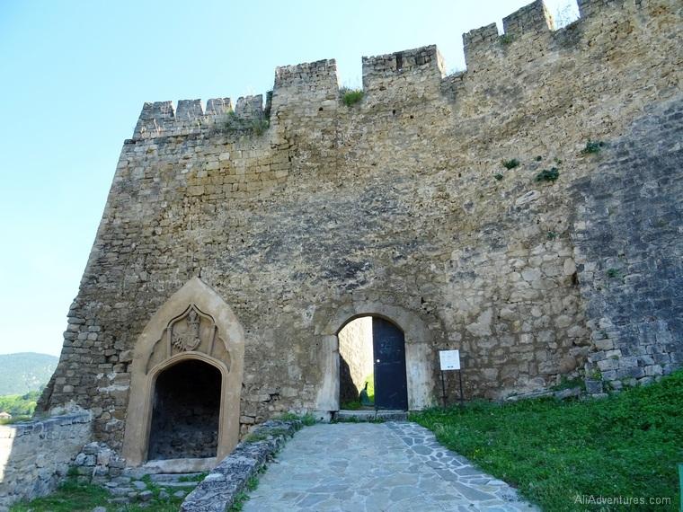 Jajce Bosnia castle