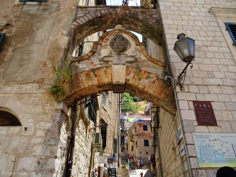 best things to do in Montenegro - Kotor north gate starting point of hike to castle