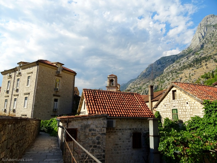 Montenegro itinerary - Kotor Montenegro views from above