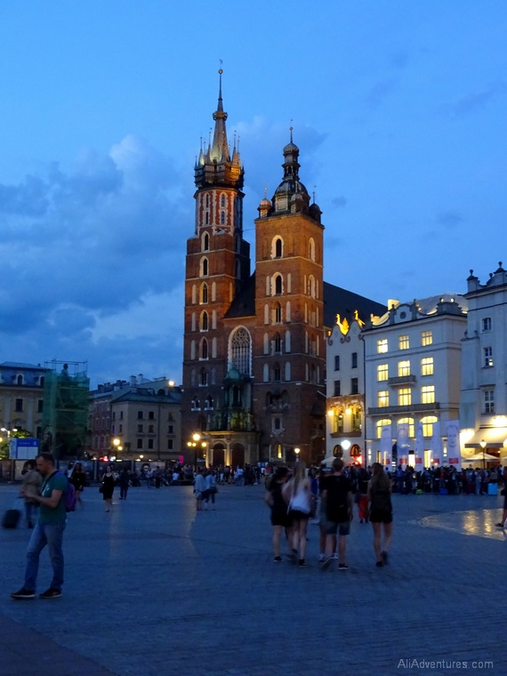 Krakow Old Town - best things to do in Krakow Poland