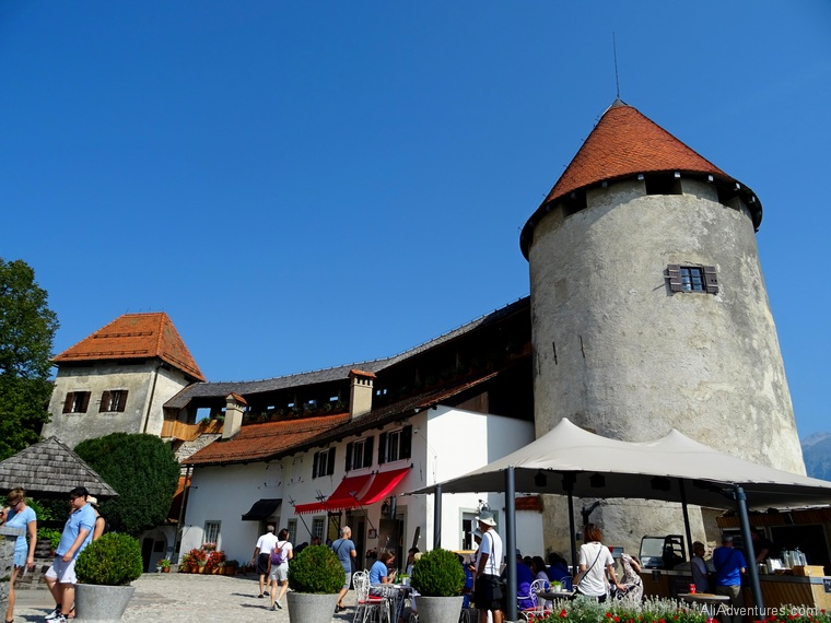 Lake Bled Slovenia castle