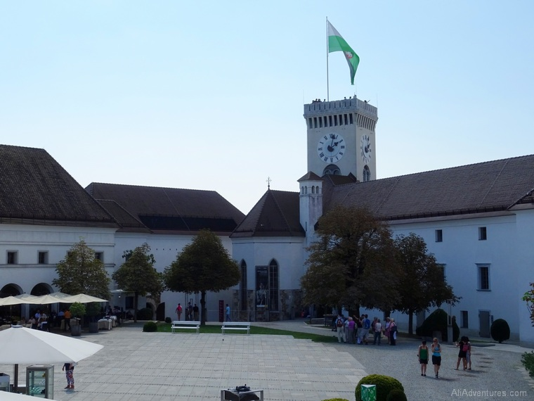 one week in Slovenia - Ljubljana castle