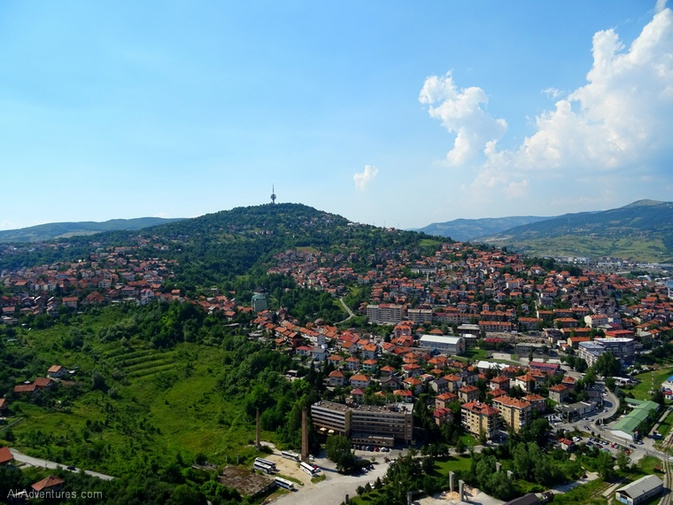 things to do in Sarajevo Bosnia views from above