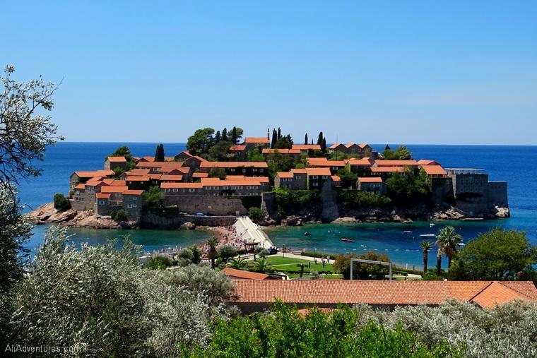 Montenegro itinerary - how to visit Sveti Stefan Montenegro