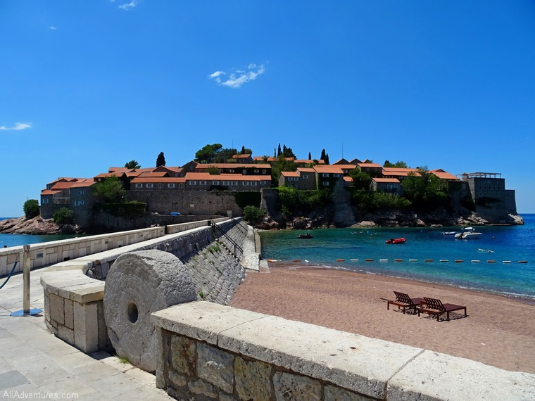 what to do in Montenegro - how to visit Sveti Stefan Montenegro