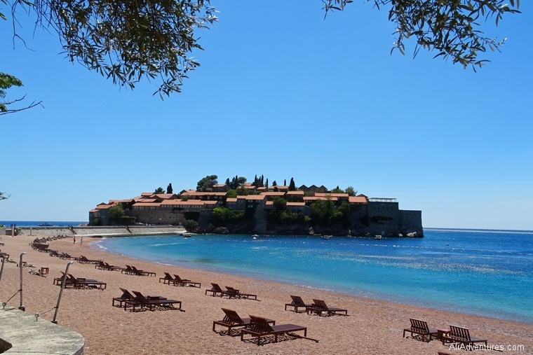 best places to visit in Montenegro - how to visit Sveti Stefan Montenegro