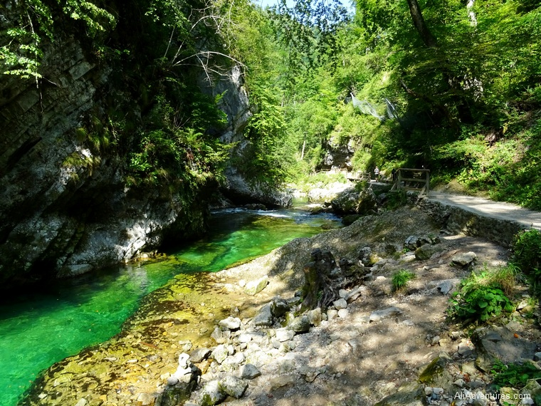 Vintgar Gorge Lake Bled - Slovenia itinerary
