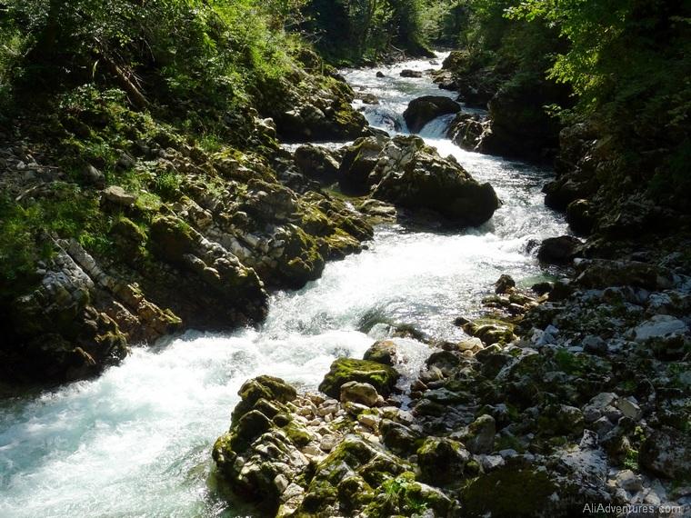 one week in Slovenia - Vintgar Gorge