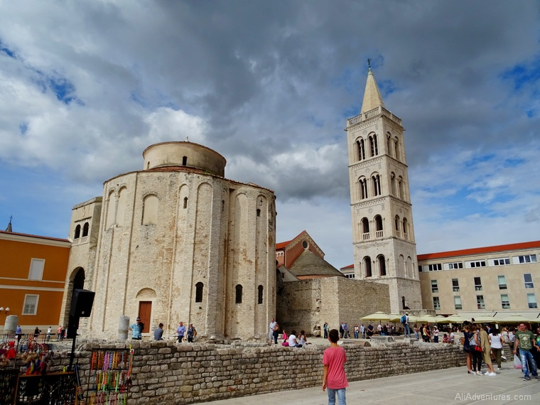 things to do in Zadar Croatia old town