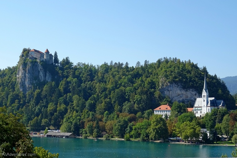 one week in Slovenia - views of Lake Bled