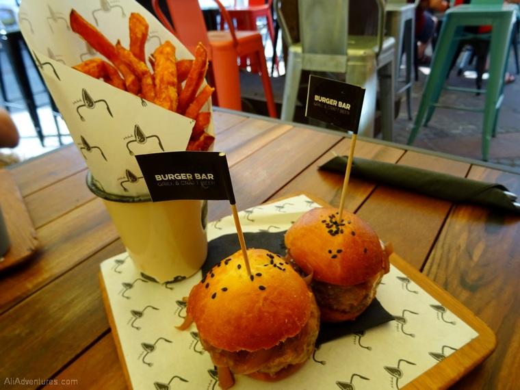 where to eat in Ljubljana - burgers