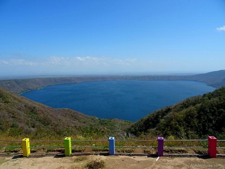 Granada, Nicaragua Mirador Catarina lookout point
