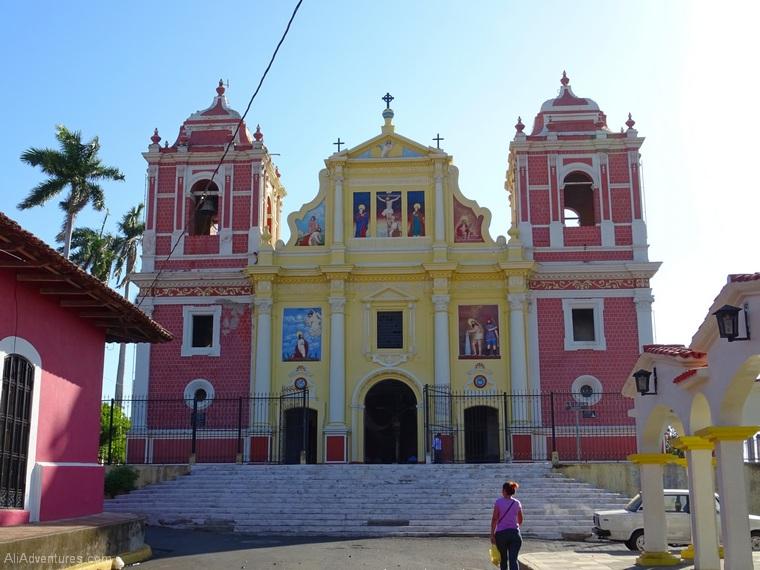 Leon Nicaragua church