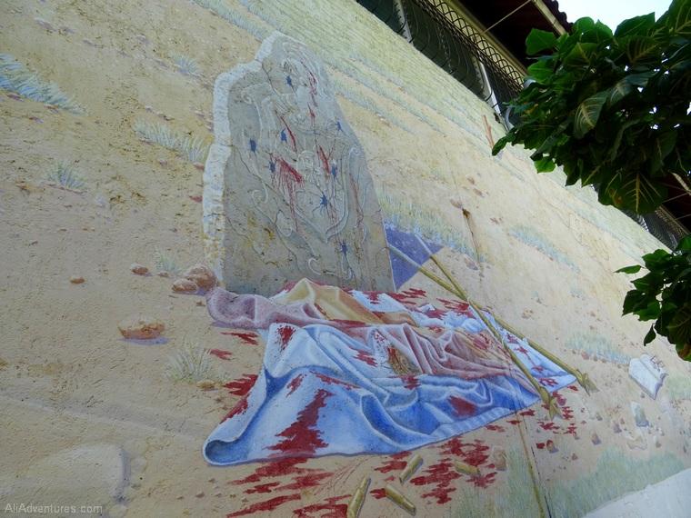 Leon Nicaragua Revolution Tour mural