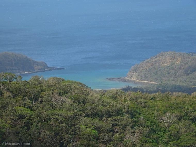 San Juan del Sur, Nicaragua zip lining - view
